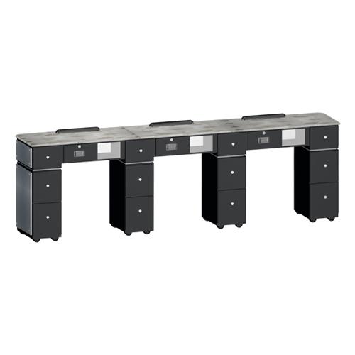 Custom Made Nail Table T39 Triple