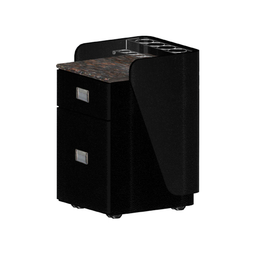 Custom Made Pedi-Cart D06 – Black
