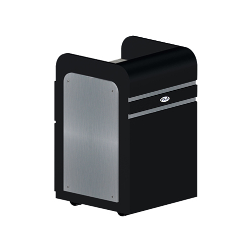 Custom Made Pedi-Cart D39 – Black Aluminum