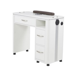 VM312 Manicure Table with Vent - 2