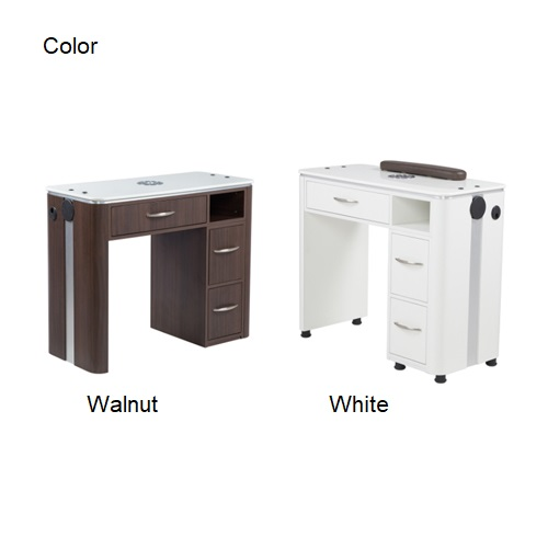 VM312 Manicure Table with Vent