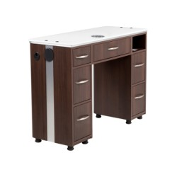 VM313 Manicure Table with Vent - 1