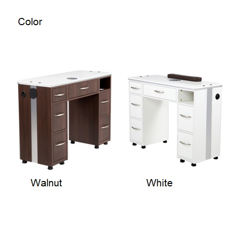 VM313 Manicure Table with Vent