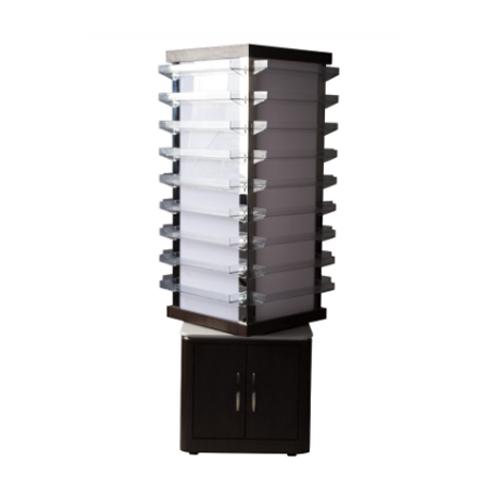 VM810 Rotating Polish Rack with LED