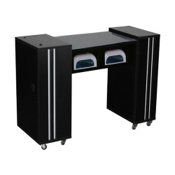 Adelle AUV Manicure Table Black - 1