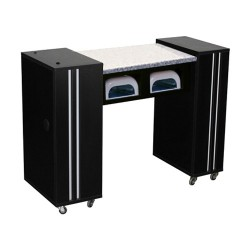 Adelle AUV Manicure Table Black - 2