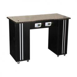 Adelle Manicure Table Black BUV