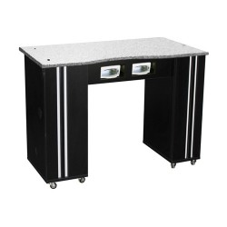Adelle Manicure Table Black BUV - 2