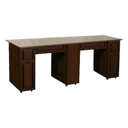 Canterbury Manicure Table Chocolate CB - 1