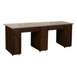 Canterbury Manicure Table Chocolate CB - 1