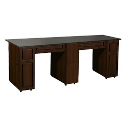 Canterbury Manicure Table Chocolate CB - 2