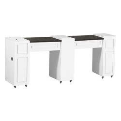 Canterbury Manicure Table White C - 2