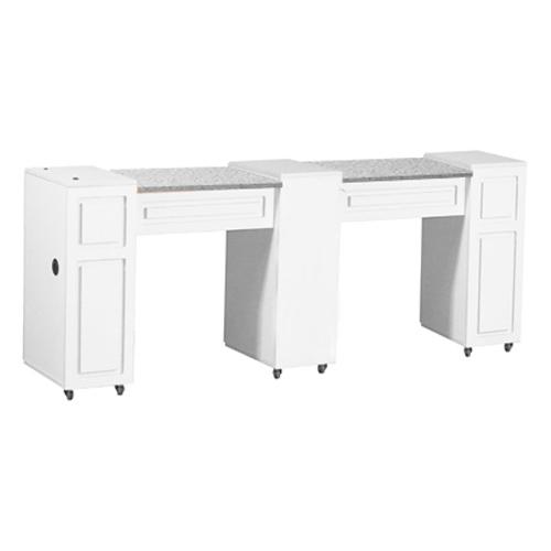 Canterbury Manicure Table White C
