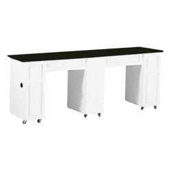 Canterbury Manicure Table White CB - 1