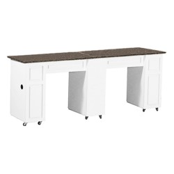 Canterbury Manicure Table White CB - 2