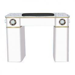 White Verona Manicure Table