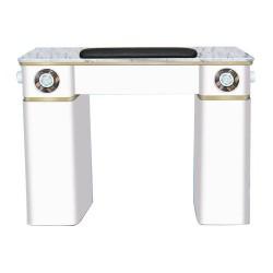 White Verona Manicure Table - 1