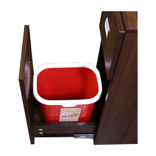 Canterbury Multi-Sections Manicure Table Full Top – Chocolate