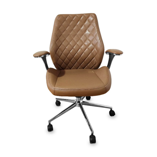 Diamond Customer Chair – Italy Leather