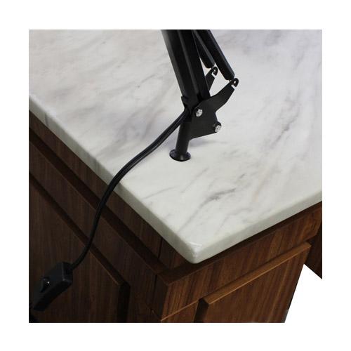 Edita Vented Manicure Table Black