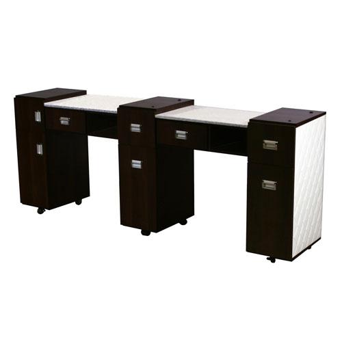 Le Beau Aussi Manicure Table Black C