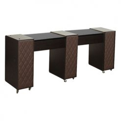 Le Beau Manicure Table Dark Cherry C