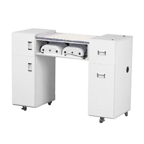 Le Beau UV Manicure Table White A