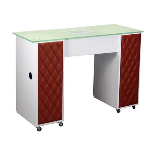 Le Beau Vented Manicure Table White