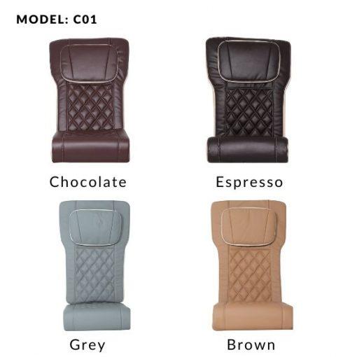 G490 – Bellagio Pedicure Spa Chair