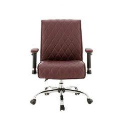 Delia Customer Chairs Burgundy
