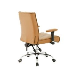 Delia Customer Chairs Cappuccino Left