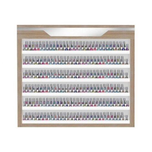 Nova II Polish Double Shelves