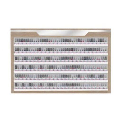 Nova II Powder & Polish Rack Double Shelves