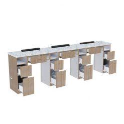 Nova Ii Triple Nail Table Best Price