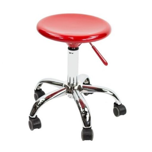 Ruby Red Technician Stool