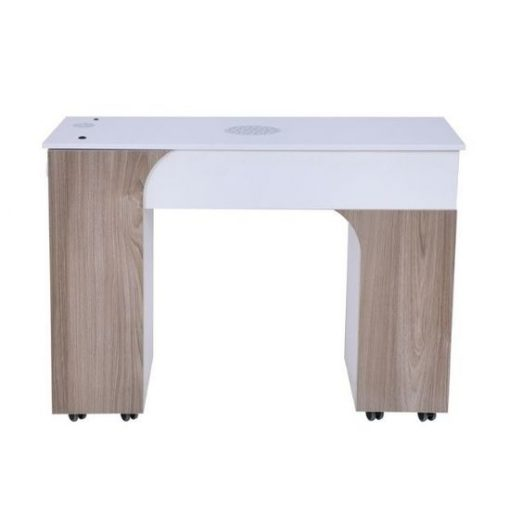 Milan Manicure Table With Vent Pipe