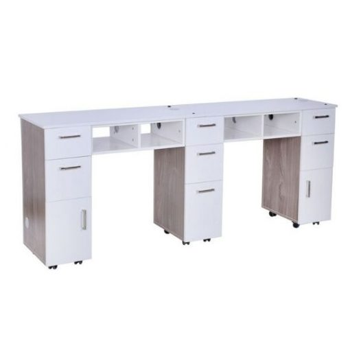 Seneca Double Manicure Table