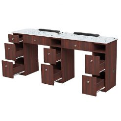 Avon I Double Manicure Table With Exhaust