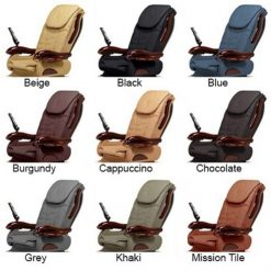 Chocolate Se Spa Pedicure Chair Full Color