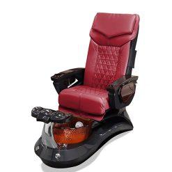 Lotus Ii Pedicure Spa Chair Red