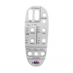 REMOTE CONTROL STICKER FOR G260-1