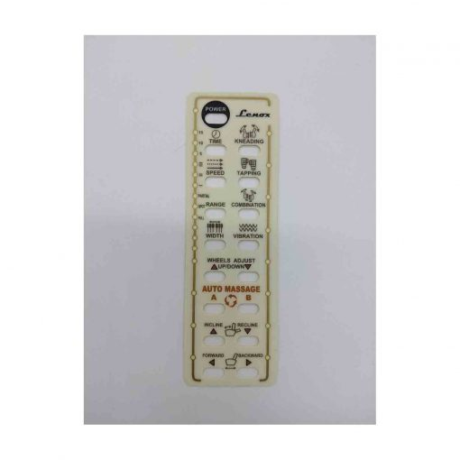 Remote Sticker For Lenox SE & Lenox GX
