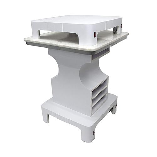 White Sonoma Square Nail Dryer Table