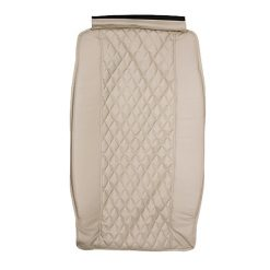 Diamond Pu Leather Backrest With Pad 4