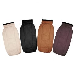 Plain PU Leather Backrest with Pad