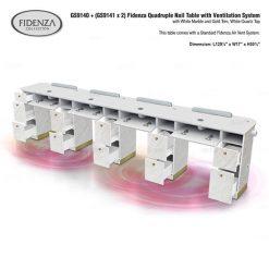 Gs9140 Gs9141 Fidenza Quadruple Nail Table 1