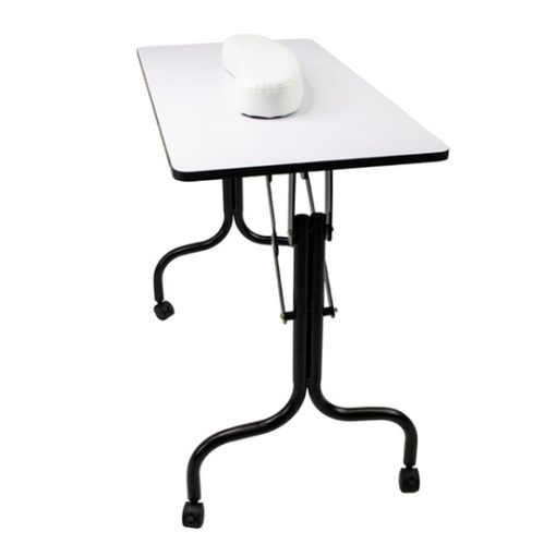Littrell Foldable Manicure Table