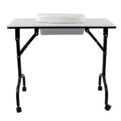 Littrell Foldable Manicure Table 2