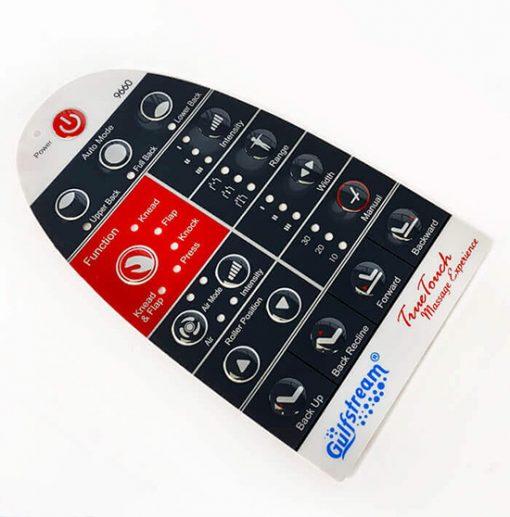 Gs8089-S-9660 Remote Control Cover Sticker